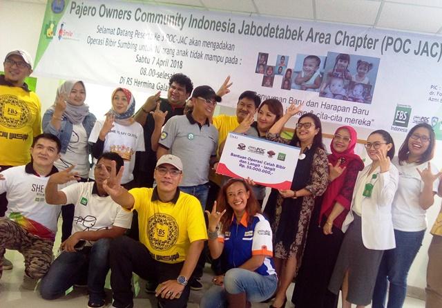 Pajero Owners Community Indonesia (POC) – Jabodetabek Area Chapter (JAC),