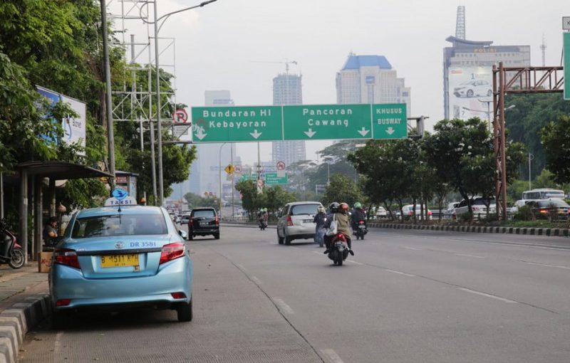 ruas-ruas jalan di Ibu Kota