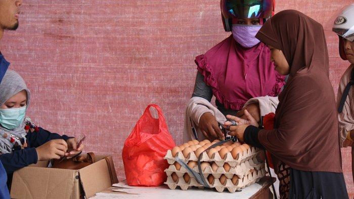 Pasar murah telur