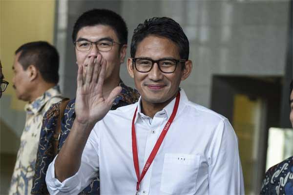 Wakil Gubernur DKI Jakarta, Sandiaga Salahuddin Uno