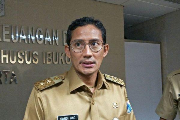 Wakil Gubernur (Wagub) DKI Jakarta, Sandiaga Uno