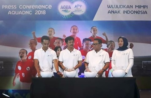 Ajang AQUA Danone Nations Cup (AQUADNC) 2018