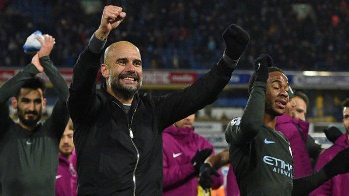 Pelatih Manchester City, Josep Guardiola
