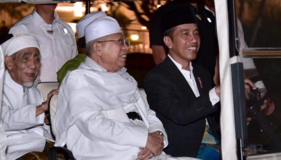 presiden Joko Wpresiden Joko Widodo (Jokowi) dan KH Ma'ruf Aminidodo (Jokowi) dan KH Ma'ruf Amin