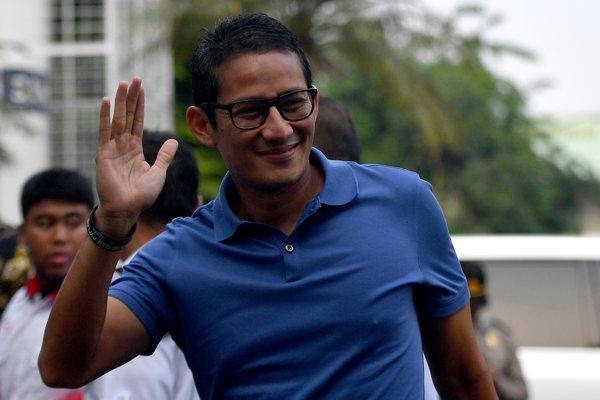 Bakal calon wakil presiden (Cawapres), Sandiaga Uno