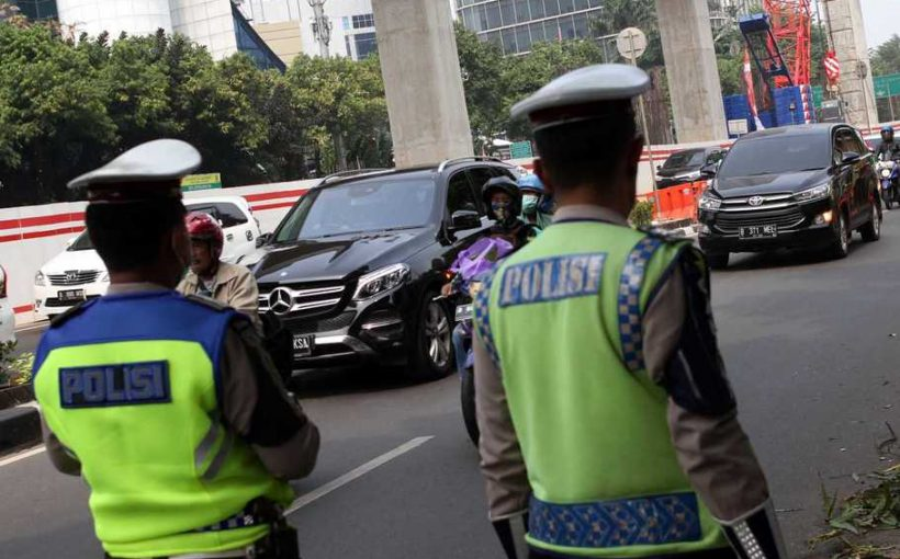 kawasan ganjil genap di Jakarta