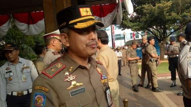 Kasatpol PP DKI Jakarta Yani Wahyu