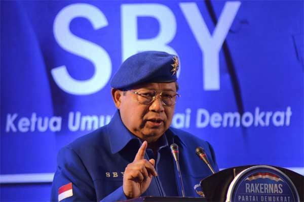 Ketua Umum DPP Partai Demokrat, Susilo Bambang Yudhoyono (SBY)