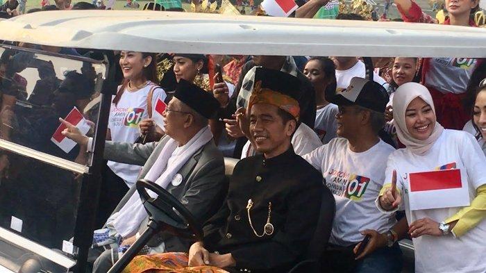 TKN Tengah Susun Jadwal Kampanye Jokowi-Ma'ruf