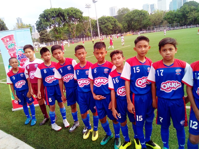 Okky Splash Soccer Team 2018