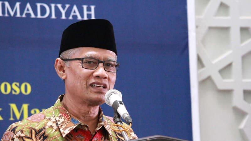 Ketua Umum (Ketum) PP Muhammadiyah, Haedar Nashir