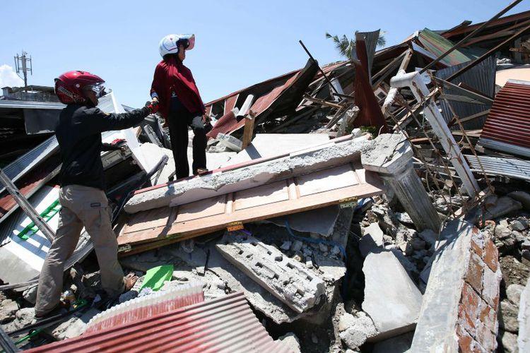 Korban Gempa dan Tsunami