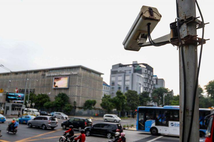 uji coba Electronic Traffic Law Enforcement (ETLE)