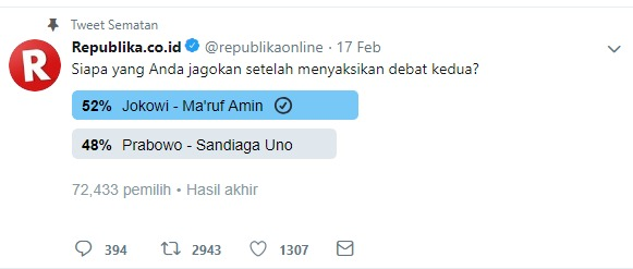 polling media massa