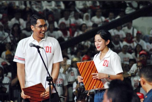 Juru bicara Tim Kampanye Nasional (TKN) Milenial Joko Widodo (Jokowi)-Ma'ruf Amin, Muhammad Pradana Indraputra