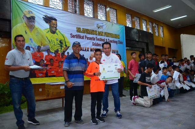 Ketua Panitia Penyelenggara Alex Noerdin Cup 2019, Eddy Sofyan