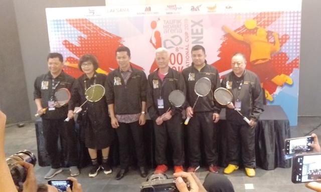Ajang beregu ini berlangsung di Taufik Hidayat Arena, Jakarta Timur, 13-15 September 2019.