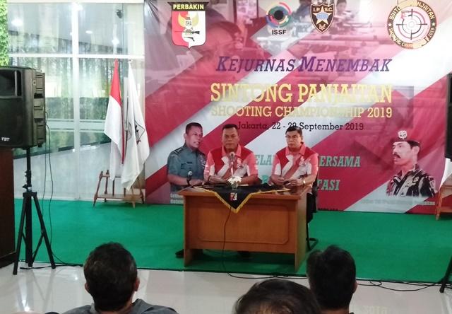 Ketua Umum PB Perbakin, Joni Supriyanto