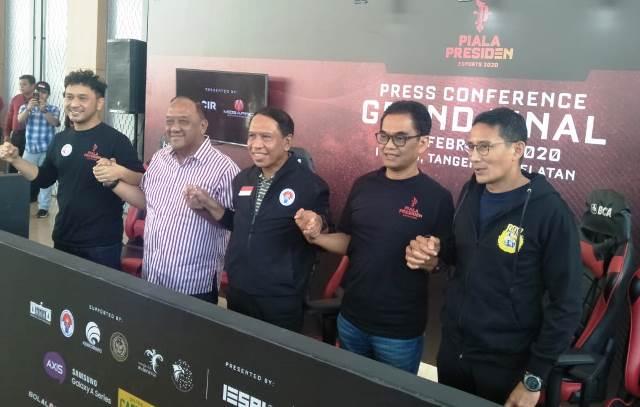 Dewan Pembina Pengurus Besar (PB) Esports Indonesia. Sandiaga Uno