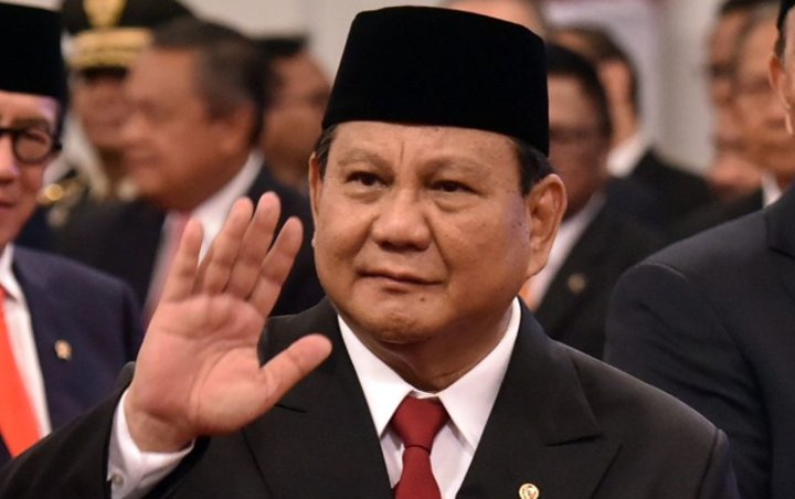 Menteri Pertahanan (Menhan), Prabowo Subianto