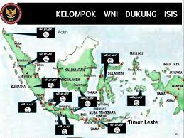 Peta teroris di Indonesia
