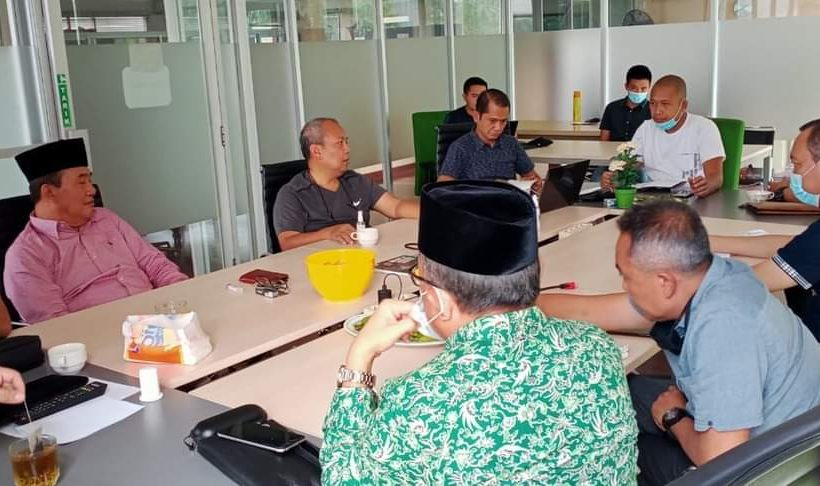 Samsul B. Ibrahim, Ketua Panitia Pelaksana yang juga Ketua HPN DKI Jakarta.